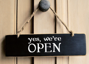 Our Offices Will Be Open From Monday 18th May 2020.